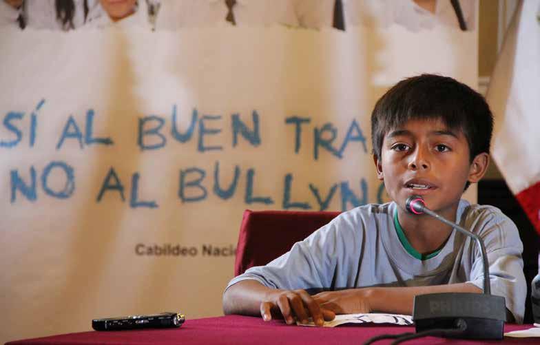 Escolares contra el bullying - convivencia escuela