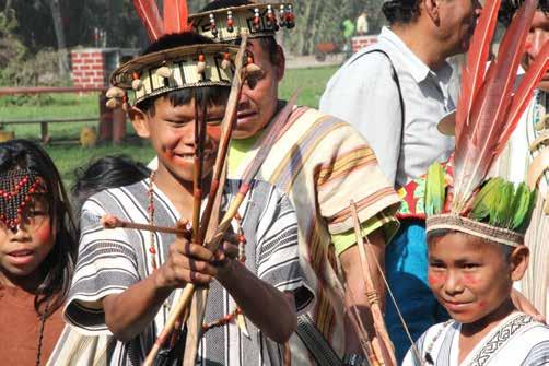 Diversidad de culturas en el Tinkuy