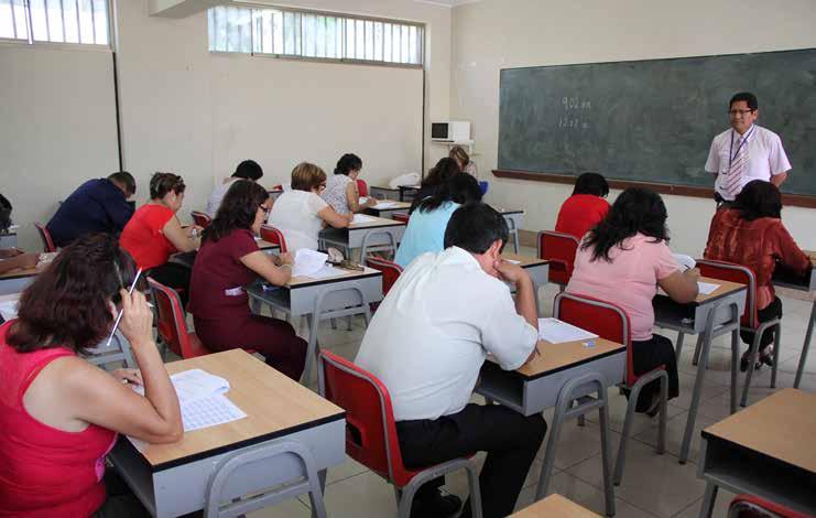 La evaluacion docente - politicas educativas
