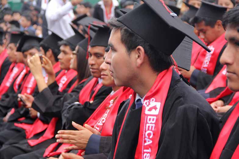 Beca 18 los primeros graduados - Becas educación