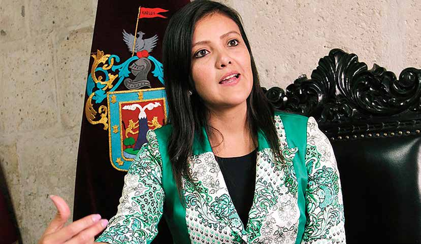 Gobernadora Regional de Arequipa, Yamila Osorio