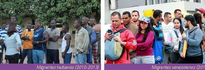 Perú ha recibido diversos migrantes en los últimos años