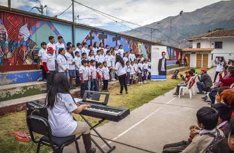 Núcleo Cusco-Andahuaylillas, promovido por Sinfonía por el Perú y parroquias jesuitas de Andahuaylillas