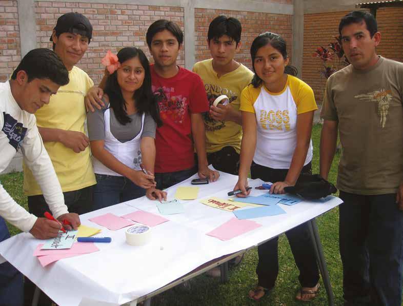 jóvenes en equipo