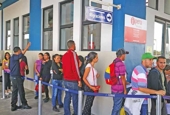 Movilidad venezolanos