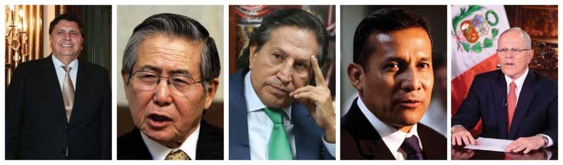 Lista de presidentes investigados por corrupcion