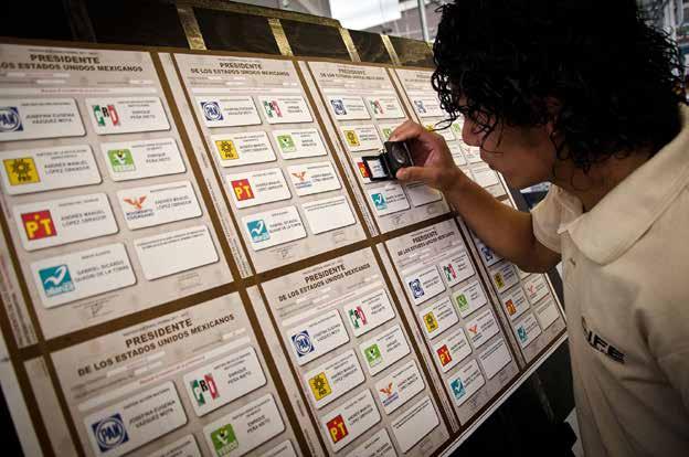 Padrón electoral - elección México