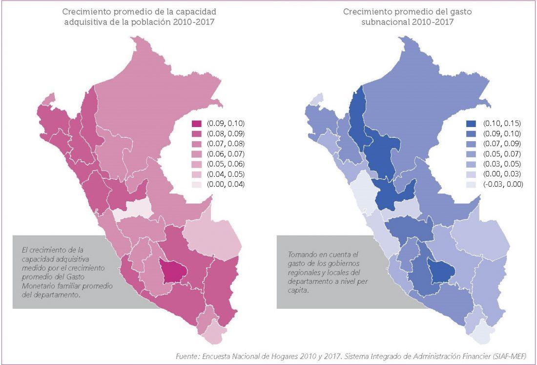 La capacidad adquisitiva y de gasto de la población también influyen en los ingresos municipales