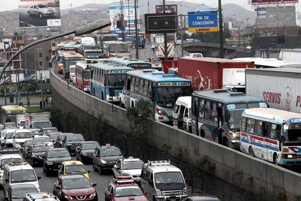 El transporte en Lima necesita cambios