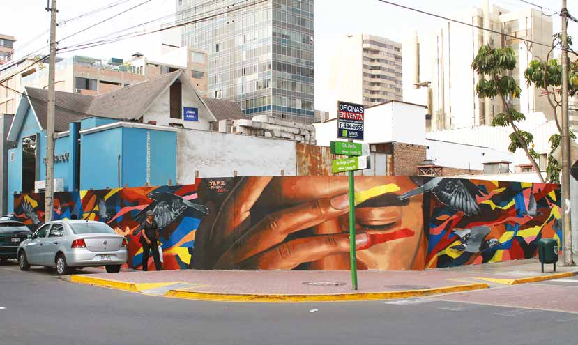 Graffiti en Lima
