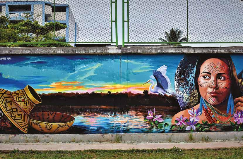 Graffiti en Tingo María