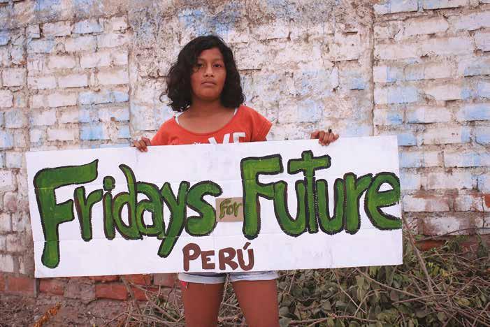Jóvenes y justicia climática