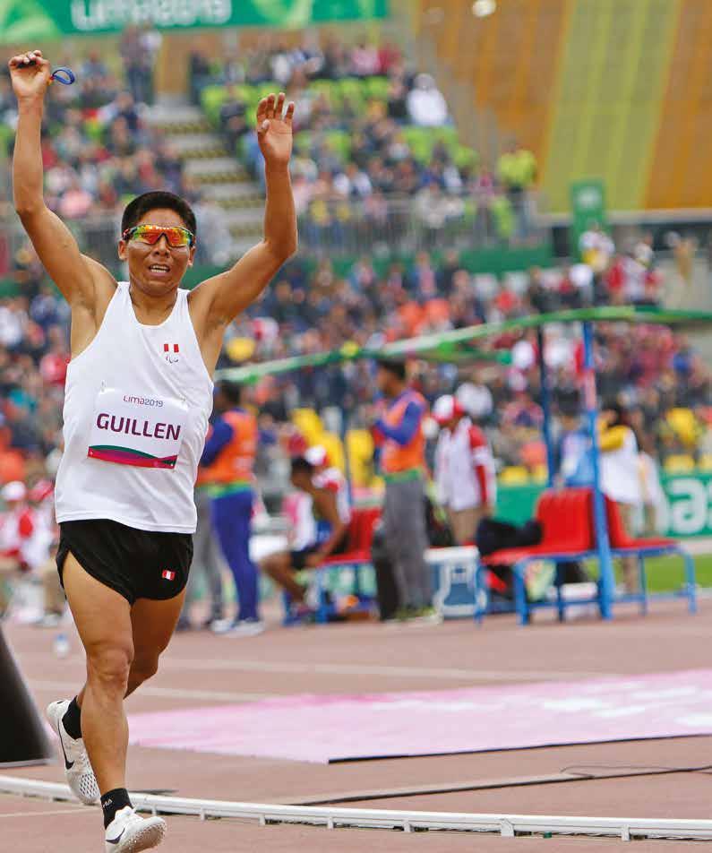 Rosbil Guillén en los Juegos Parapanamericanos Lima 2019