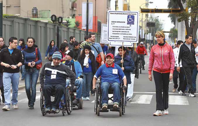 La discapacidad en el Perú