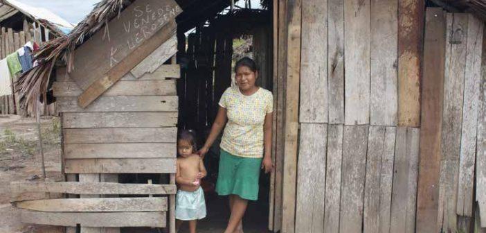Pobreza amazónica