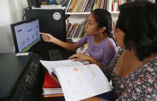 Educación a distancia - Aprendo en Casa